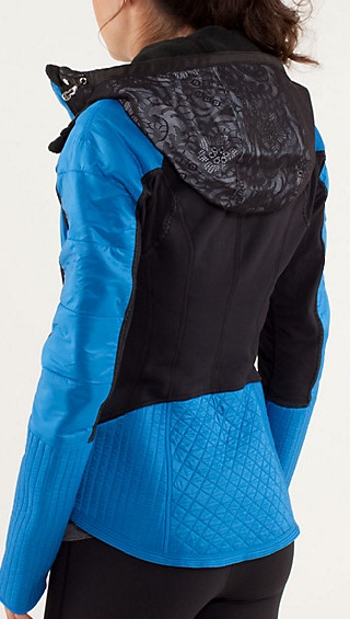 Lululemon Run Bundle Up Jacket Reflect - Croppped
