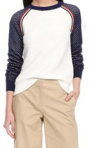 Joe Fresh Baseball Sweater $39