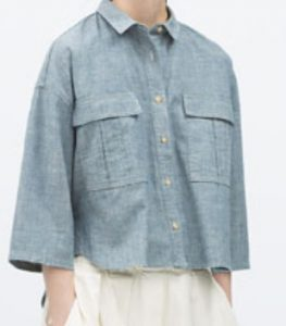 Zara Denim Shirt $59.90