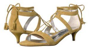 Zappos - NIna Kitten Heel Sandals