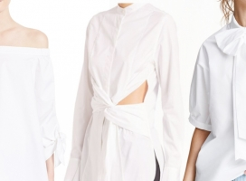 Beyond the Basic:  This Season's White Blouse